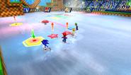 Mario Sonic Olympic Winter Games Gameplay 364