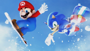 Mario Sonic Olympic Winter Games Opening 68