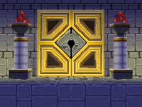 Pirates' Island door