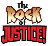 Rock of Justice logo