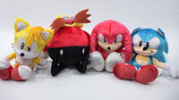 Sonic 25th anniversary plushes
