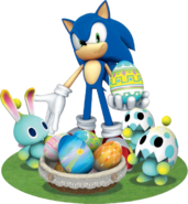 Sonic Chao Easter