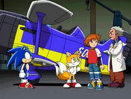 Sonic Tails Chris Chuck ep 8