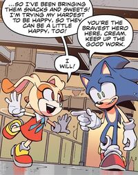 Sonic and Cream (IDW 20)