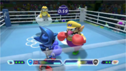 Mario & Sonic at the Rio 2016 Olympic Games - Metal Sonic VS Wario Boxing