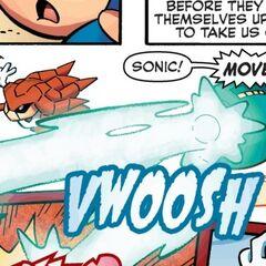 Mega Man usando el <a href=