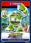 Sonic Free Riders karta 1