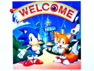Sonic Screen Saver 8