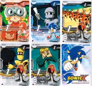 Sonic X tcg Common 006-010