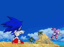 Sonic meets Blaze