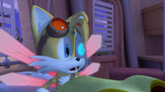 Tails wakes up from nightmare