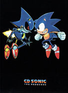 CD Sonic concept box art