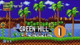 Sonic Mania - Green Hill Zone - Sonic & Tails