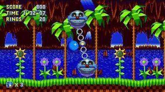 Sonic Mania Boss 1 - Mini Death Eggs