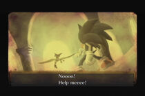Sonic pierde al rey