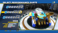 Chao Legendary Fairy Wings Rear
