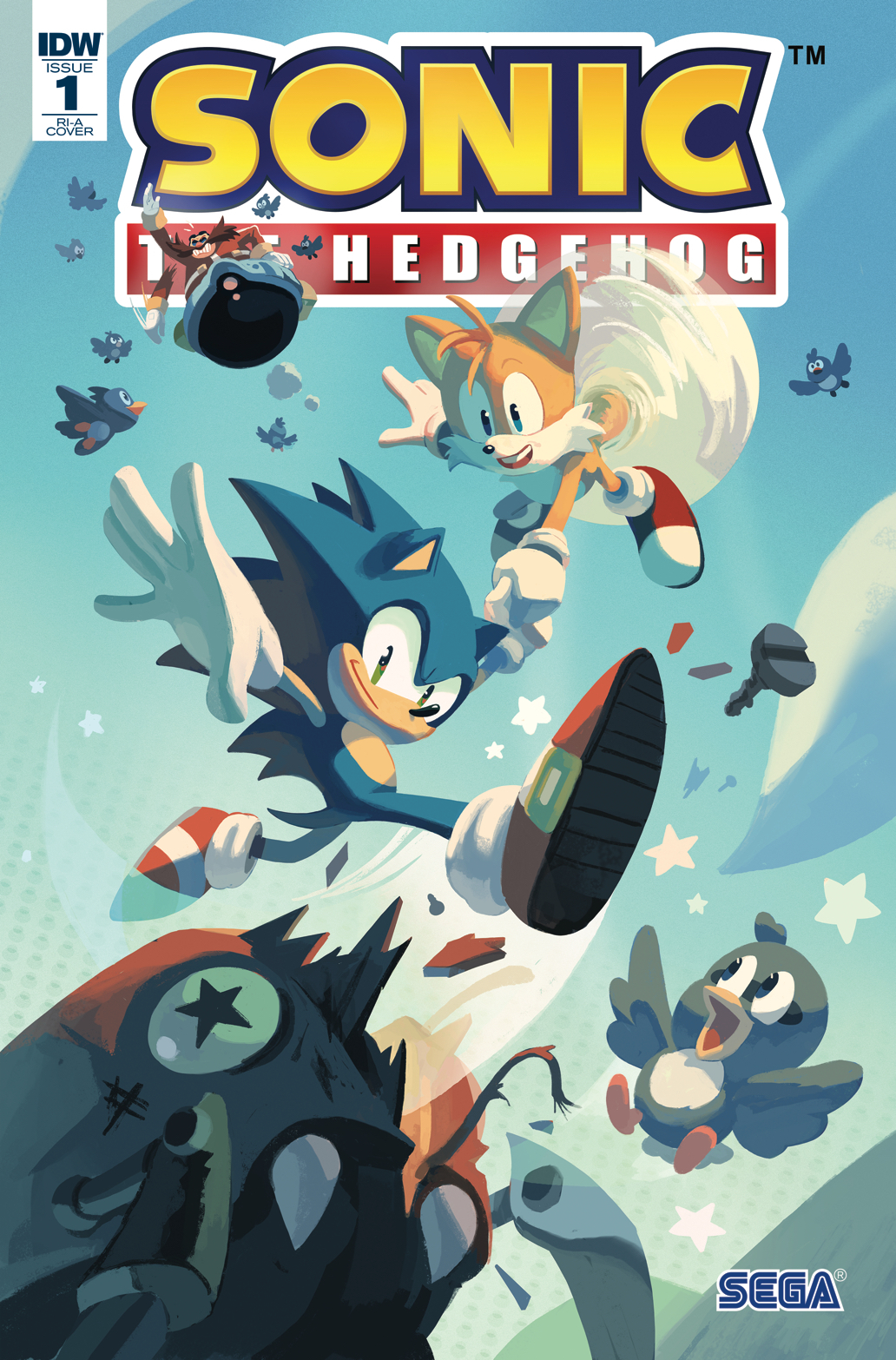 Idw Sonic The Hedgehog Issue 1 Sonic News Network Fandom