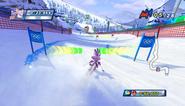 Mario Sonic Olympic Winter Games Gameplay 014