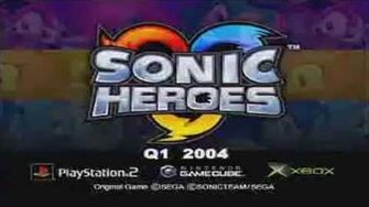 Sonic Heroes Trailer (Characters) HD