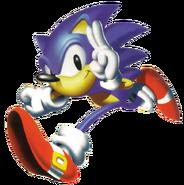 Sonic R art 2