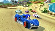 Sonic Racing Screen 1
