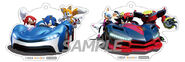 TeamSonicRacing AmiAmiKeychains