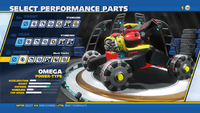 Omega Mech Tracks Wheels