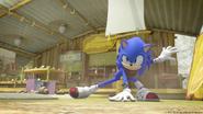S2E01 Sonic battle stance