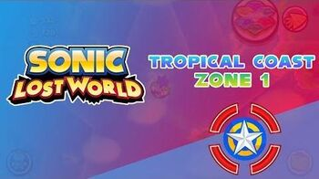 Tropical Coast Zone 1 - Sonic Lost World