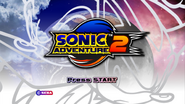 SA2 Title Screen