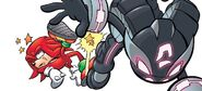 Shade-kicking-Knuckles-Archie-Comics-sonic-the-hedgehog-17598792-700-316