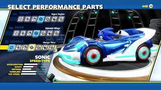 Team Sonic Racing - Team Up Trailer SPA