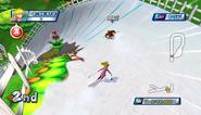 Mario Sonic Olympic Winter Games Gameplay 168