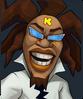 Sega Heroes DJ K Icon