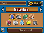 SonicRA-Materiały