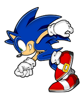 Sonic 2D art asset side run