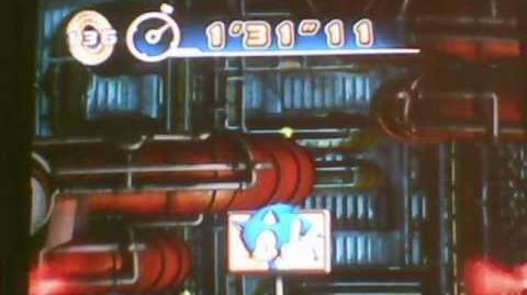 """Sonic 4 episode 1 Mad Gear Zone Act 3 Speedrun 1'31""""11"""