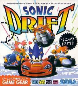 Sonic Drift cover art