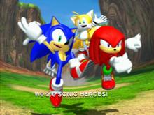 Sonic Heroes Koniec