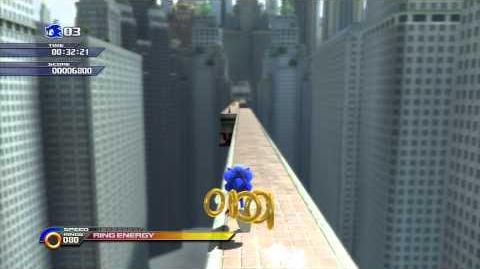 Sonic Unleashed (PS3) Empire City Skyscraper Scamper Day Act 2 S-Rank