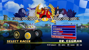 Sonic and Sega All Stars Racing character select 15