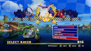 Sonic and Sega All Stars Racing character select 16