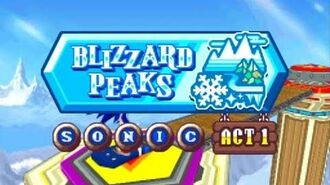 ᴴᴰ DesMuMe - Sonic Rush Adventure Blizzard Peak, Sonic - Act 2 【1080 60FPS】