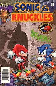 Archie Sonic & Knuckles Issue 1
