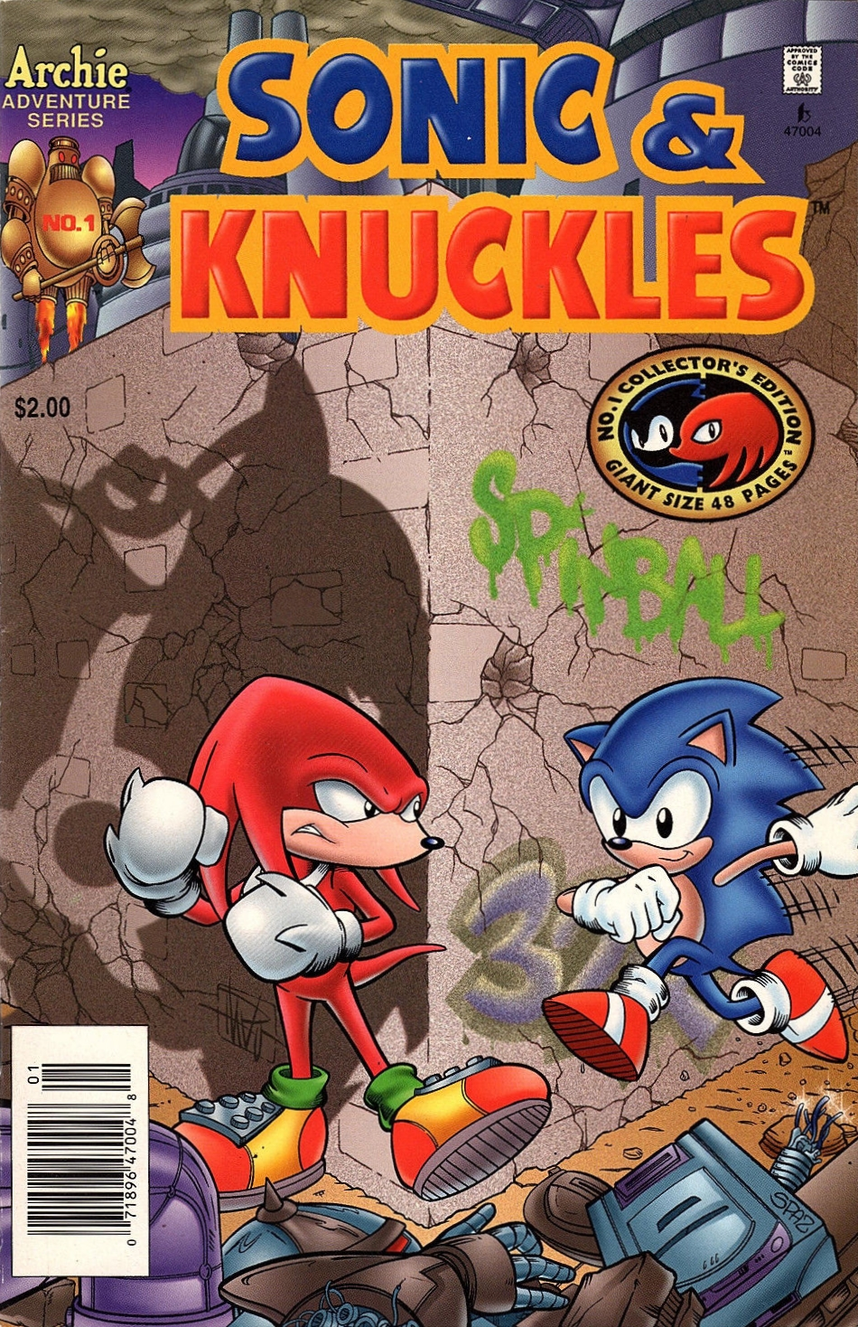 Sonic Knuckles Sonic News Network Fandom