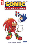 IDW Sonic 3 2nd Print