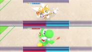 Mario & Sonic at the Rio 2016 Olympic Games - Tails VS Yoshi Gymnastics