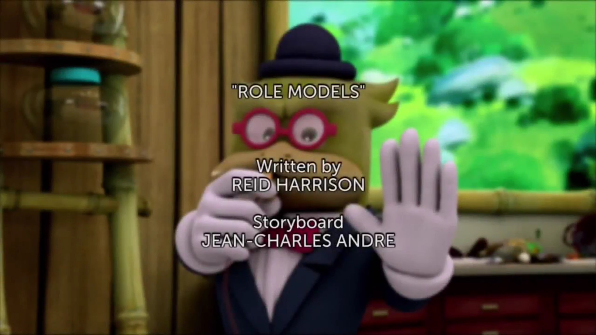 Role Models title card