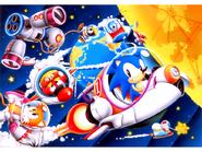 Sonic Screen Saver 32