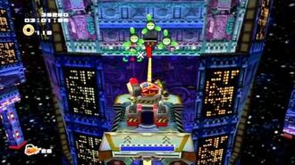 Sonic Adventure 2 (PS3) Cosmic Wall Mission 1 A Rank